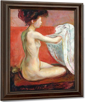 Paris Nude 1896 By Edvard Munch