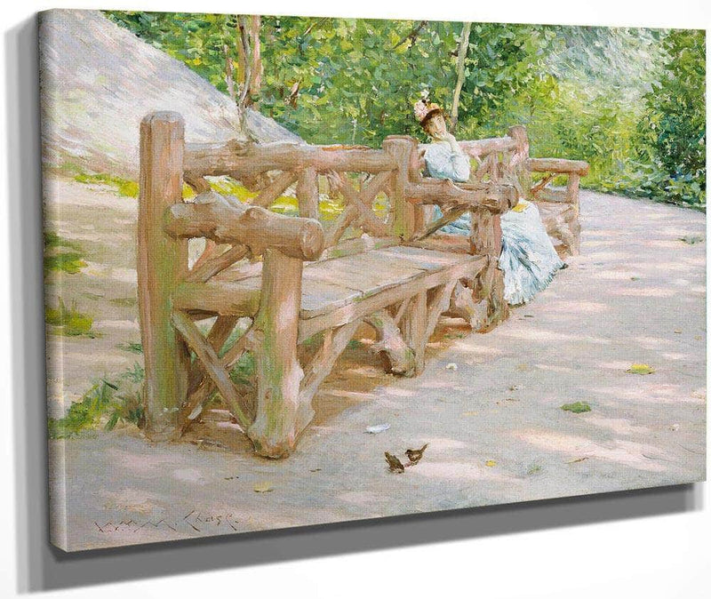 Park Bench By Chase William Merritt
