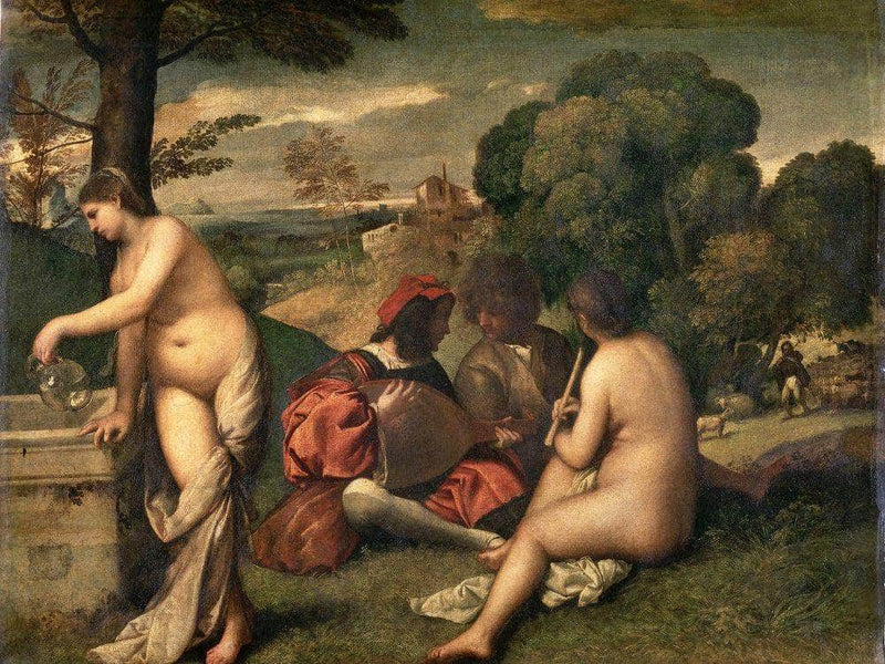 Pastoral Concert 1509 By Giorgione
