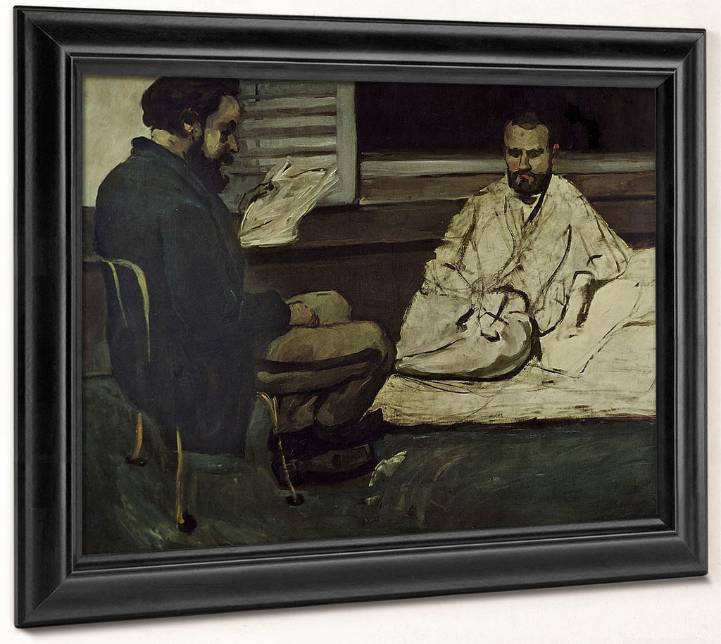 Paul Alexis (1847 1901) Reading A Manuscript To Emile Zola (1840 1902) By Paul Cezanne