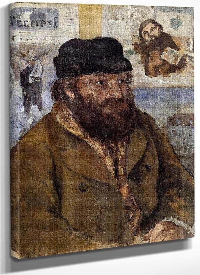 Paul Ce Zanne By Camille Pissarro