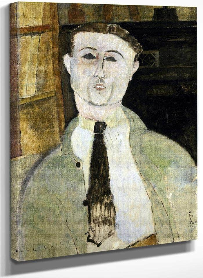 Paul Guillaume By Amedeo Modigliani