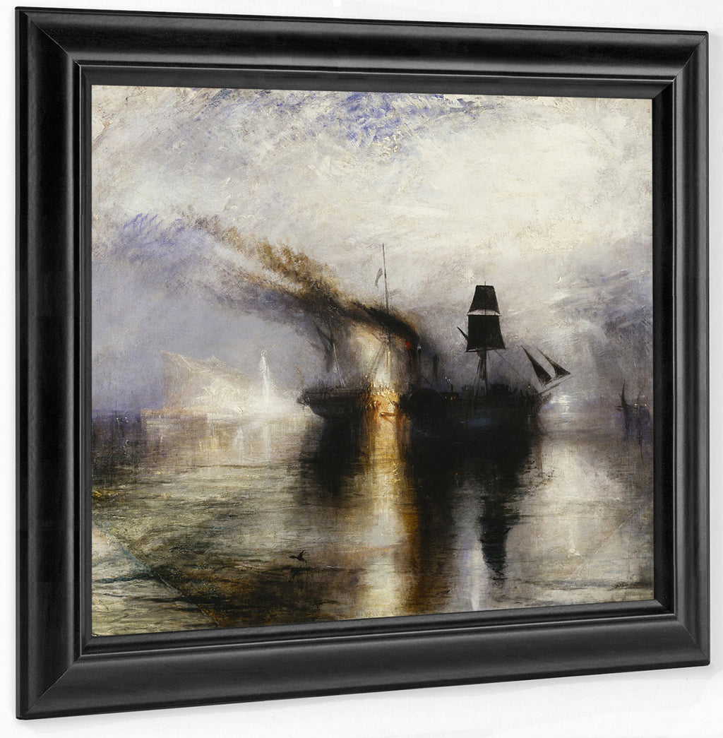 Peace   Burial At Sea Exhibited 1842 By Joseph Mallord William Turner