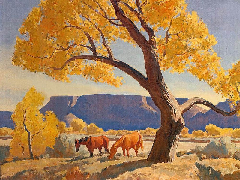 Peace In October By Maynard Dixon