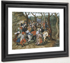 Peasant Wedding Dance 2 By Pieter Brueghel Ii