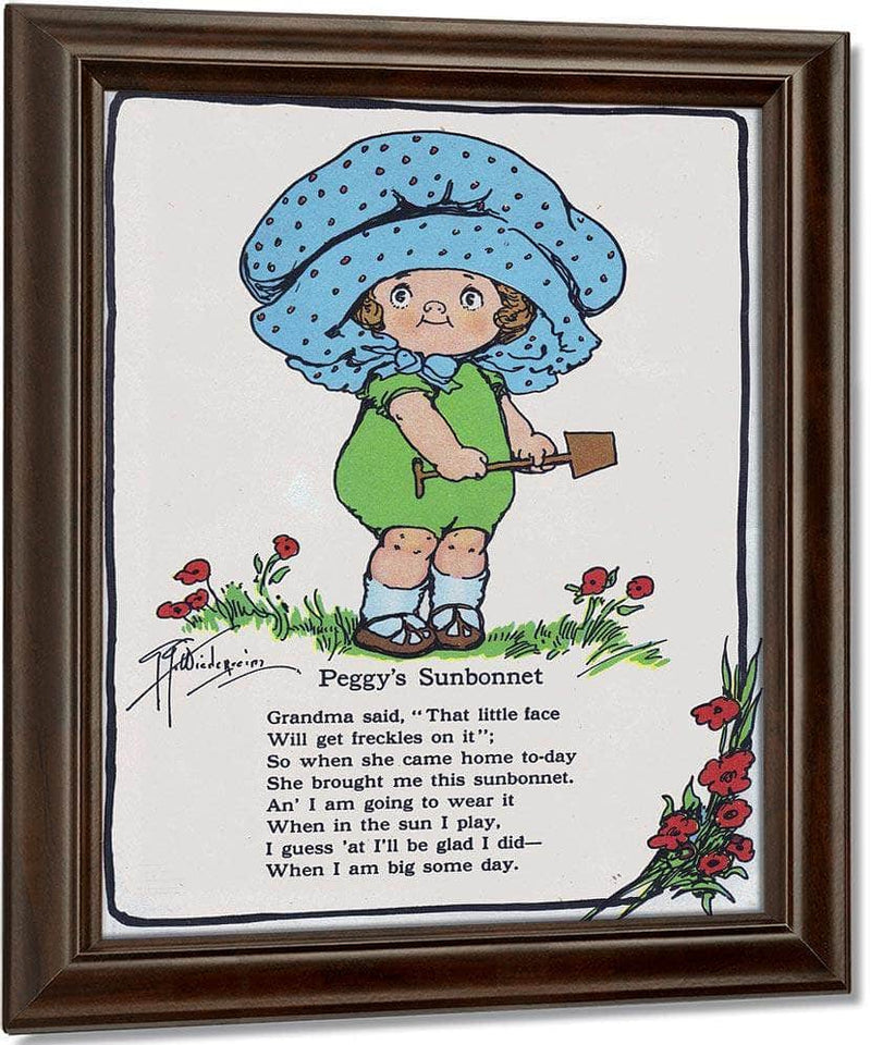 Peggys Sunbonnet Illustrated 2 By Grace G Drayton