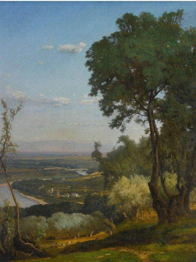 Perugia (Near Perugia) By George Inness