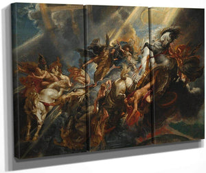 Peter Paul Rubens The Fall Of Phaeton 1605 By Peter Paul Rubens
