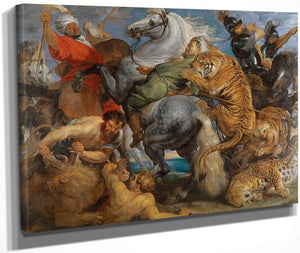 Peter Paul Rubens The Tiger Hunt 1616 (1) By Peter Paul Rubens