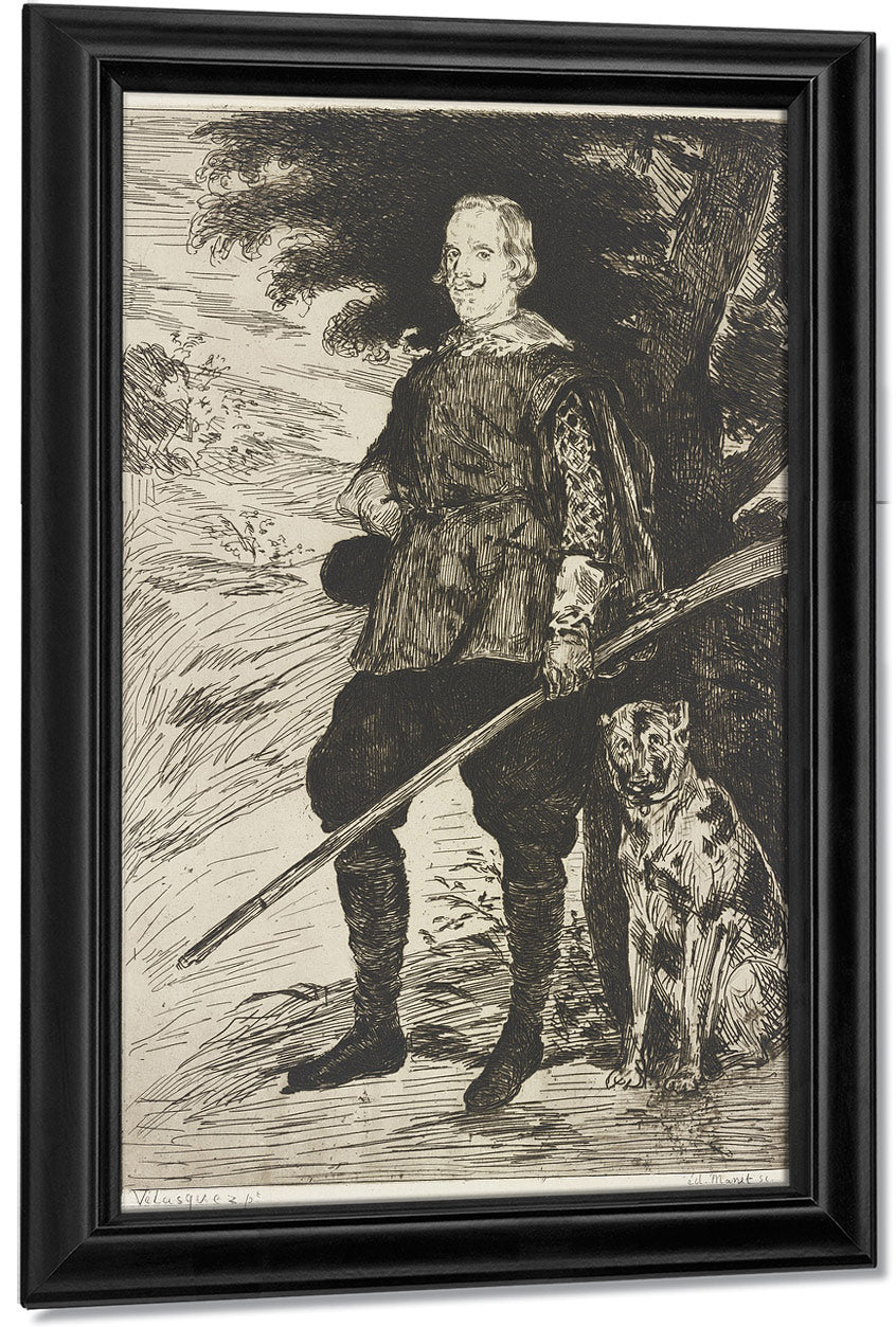 Philip Iv By Edouard Manet