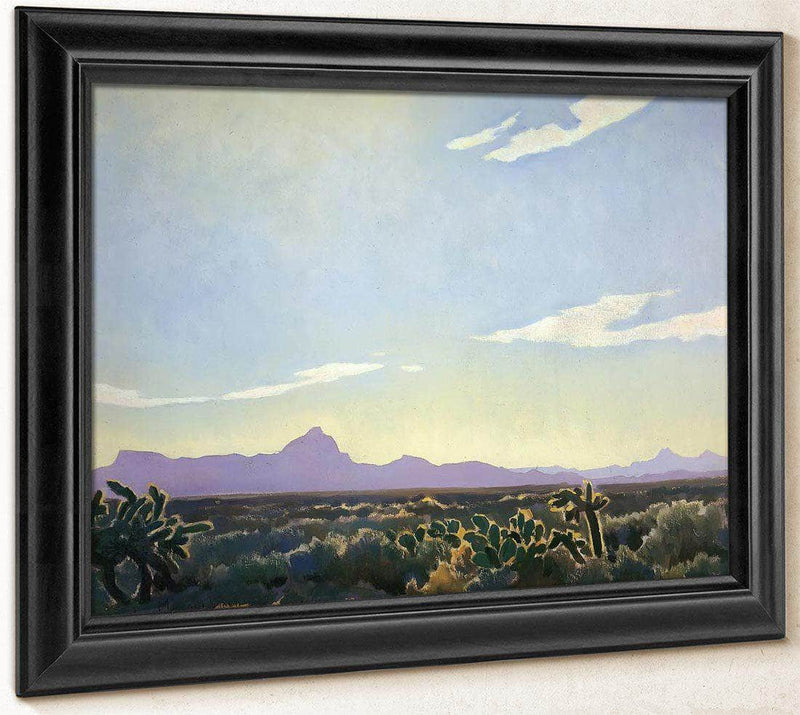 Picacho In The West By Maynard Dixon
