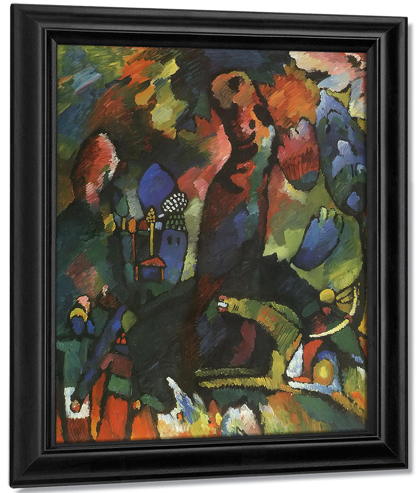 Picture With Archer By Wassily Kandinsky