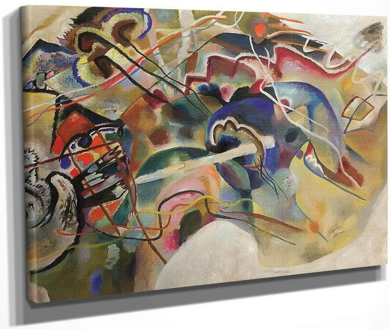 Picture With White Border 1913 By Wassily Kandinsky
