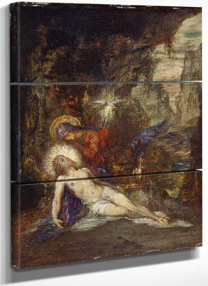Pieta 1876 By Gustave Moreau