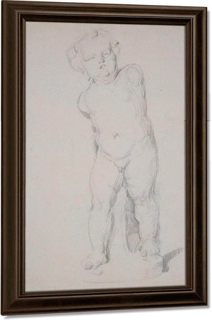 Plaster Cupid By Cezanne Paul