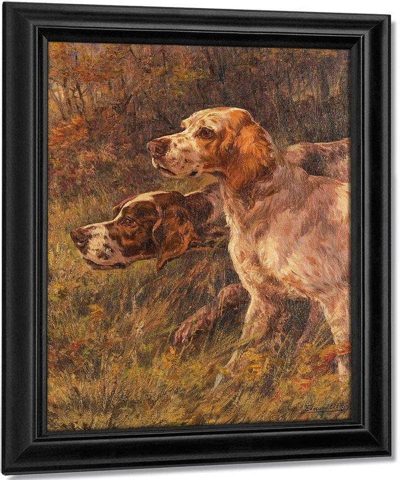 Pointer And Setter By Edmund Henry Osthaus