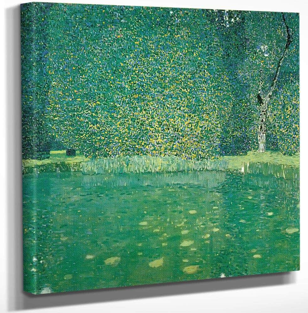 Pond At Kammer Castle On The Attersee, 1909 By Gustav Klimt