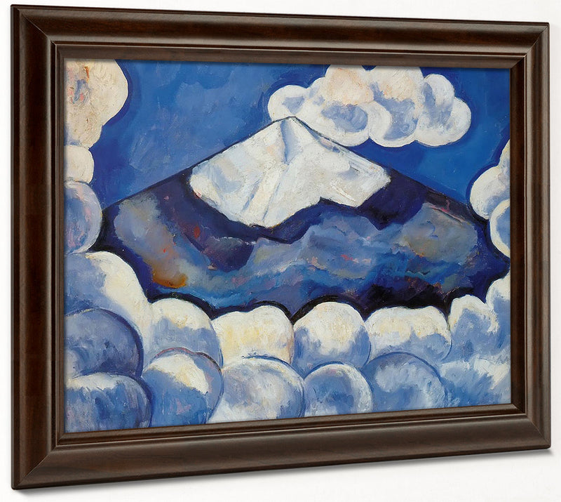 Popocatepetl Spirited Morning Mexico By Marsden Hartley