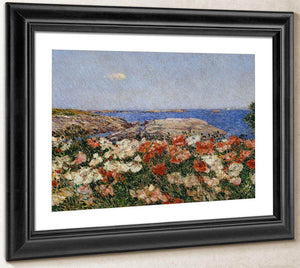 Poppies On The Isle Of Shoals By Childe Hassam