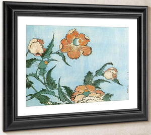 Poppies By Hokusai
