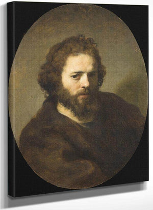 Portrait Of A Bearded Man By Rembrandt