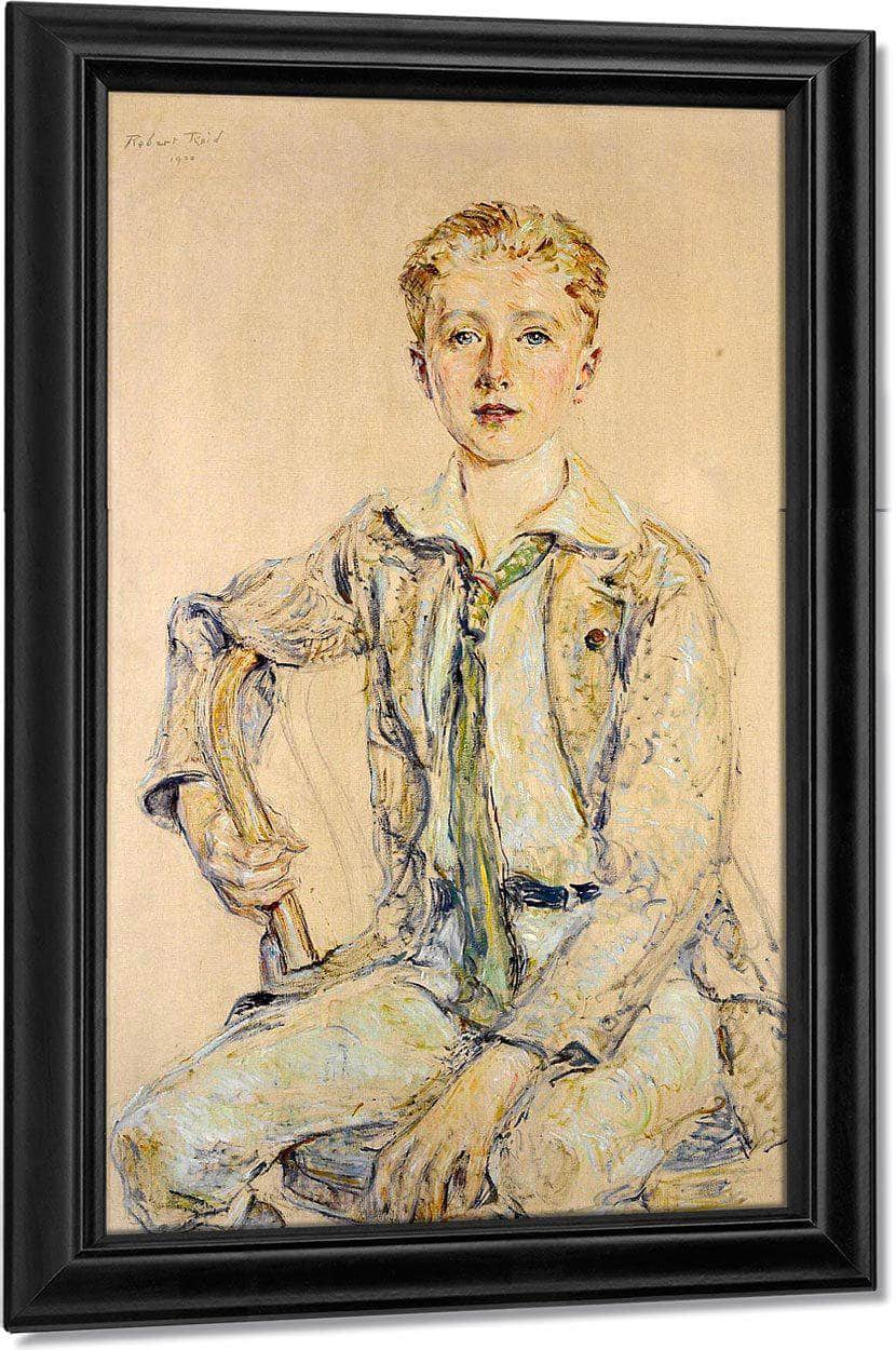 Portrait Of A Boy, 1920 By Robert Reid
