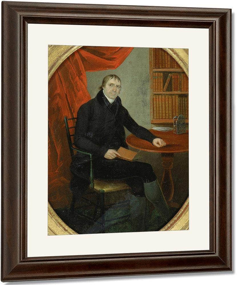 Portrait Of A Connecticut Clockmaker By Ralph Earl