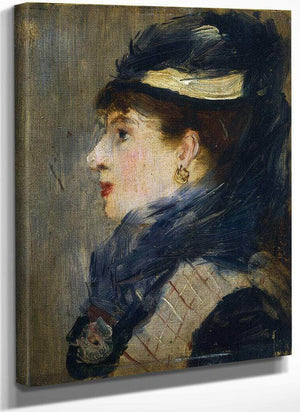 Portrait Of A Lady Edouard Manet