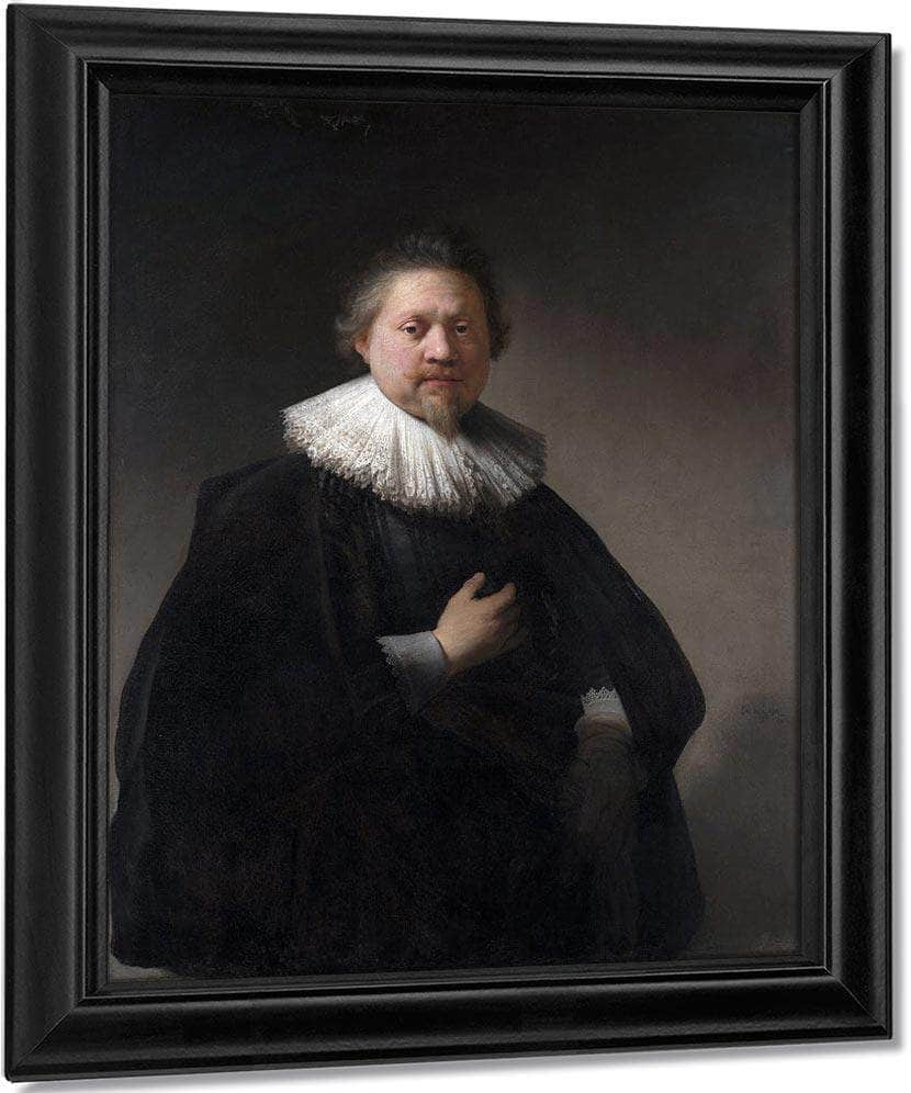 Portrait Of A Man By Rembrandt