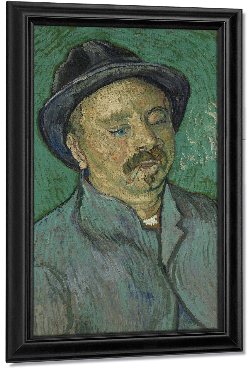 Portrait Of A One Eyed Man By Vincent Van Gogh