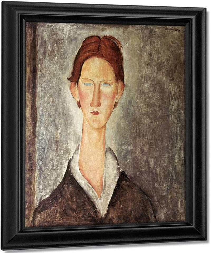 Portrait Of A Student By Amedeo Modigliani