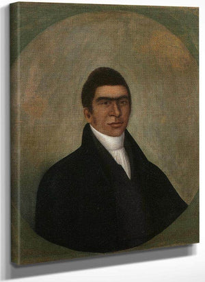Portrait Of Abner Coker 1810 By Joshua Johnson