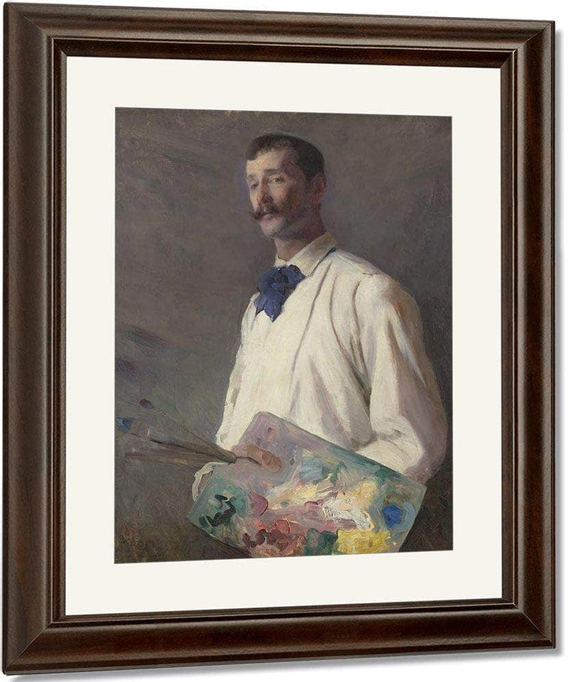 Portrait Of Alexander Harrison 1888 By Cecilia Beaux