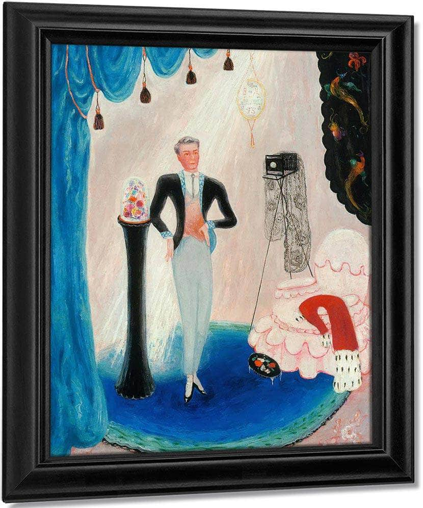 Portrait Of Baron De Meyer By Florine Stettheimer