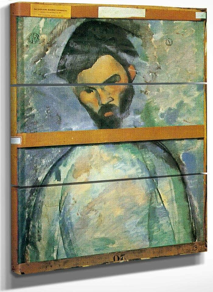 Portrait Of Brancusi 1909 By Amedeo Modigliani