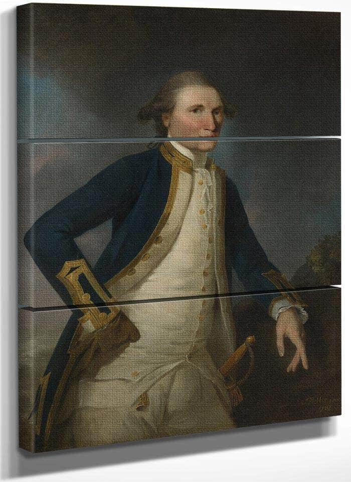 Portrait Of Captain James Cook Rn By John Webber