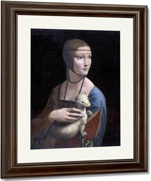 Portrait Of Cecilia Gallerani (Lady With The Ermine) By Leonardo Da Vinci