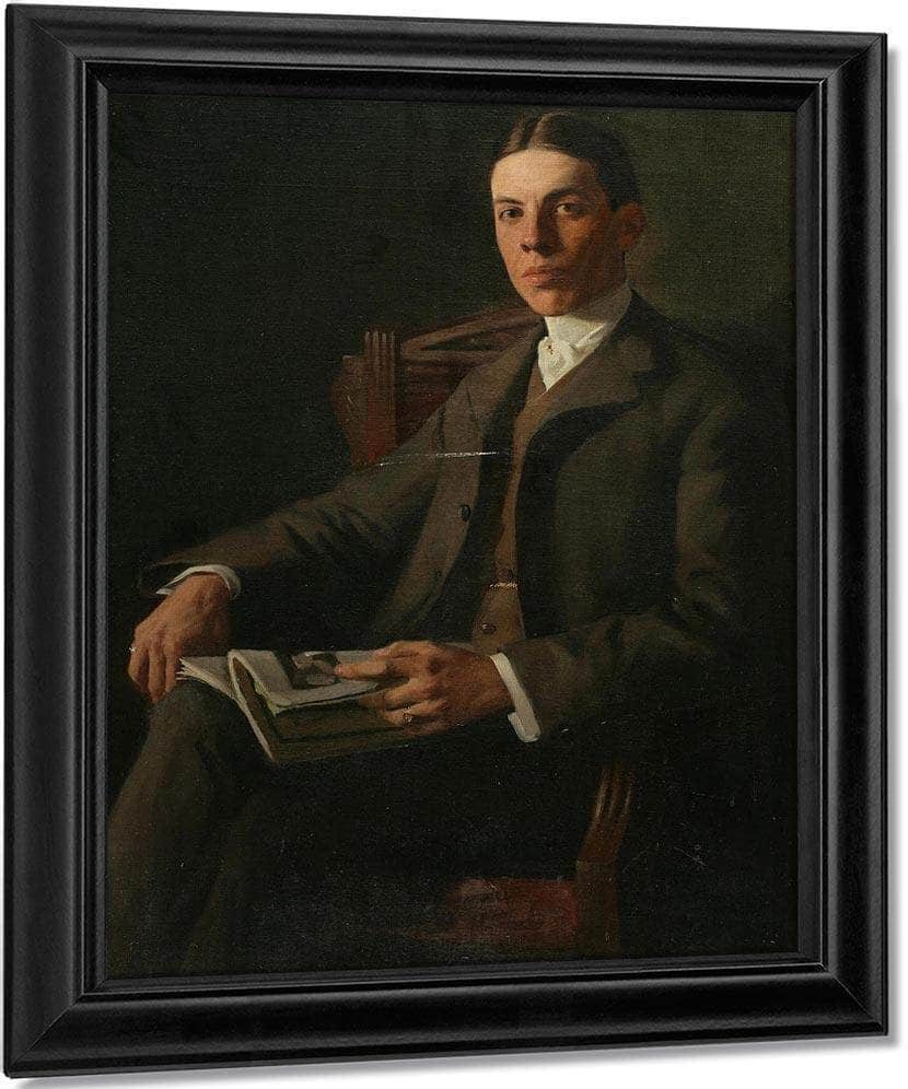 Portrait Of Charles Biggers By Richard Edward Miller