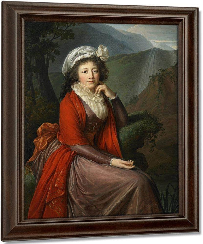 Portrait Of Countess Maria Theresia Bucquoi Nee Parr 1793 By Elisabeth Vigee Le Brun
