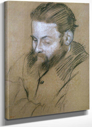Portrait Of Diego Martelli By Edgar Degas