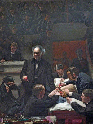 Portrait Of Dr Samuel D. Gross (The Gross Clinic) By  Eakins Thomas