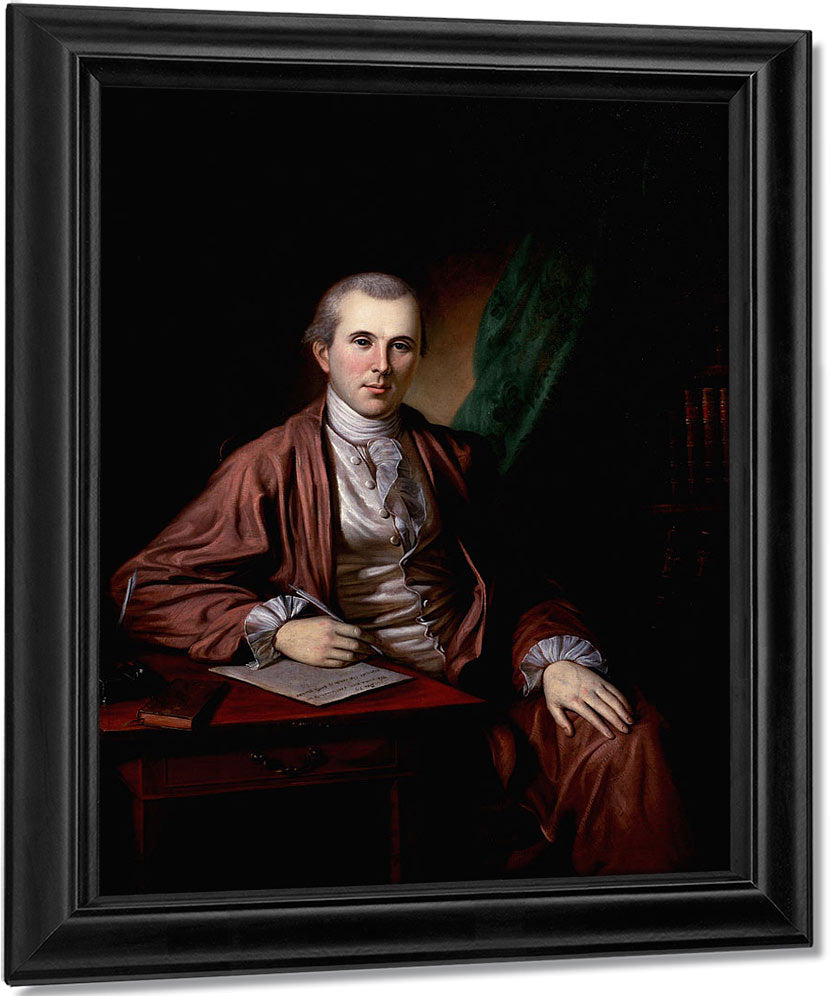 Portrait Of Dr. Benjamin Rush By Charles Willson Peale