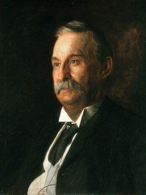 Portrait Of Edward Taylor Snow By Thomas Eakins