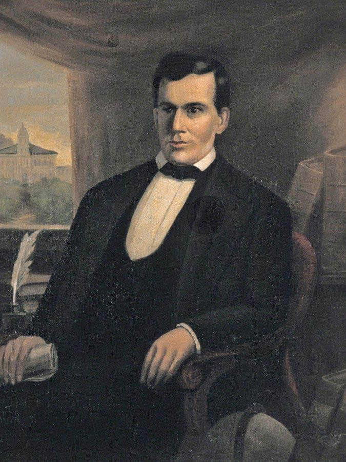 Portrait Of Freeman G Cary By Duncanson Robert