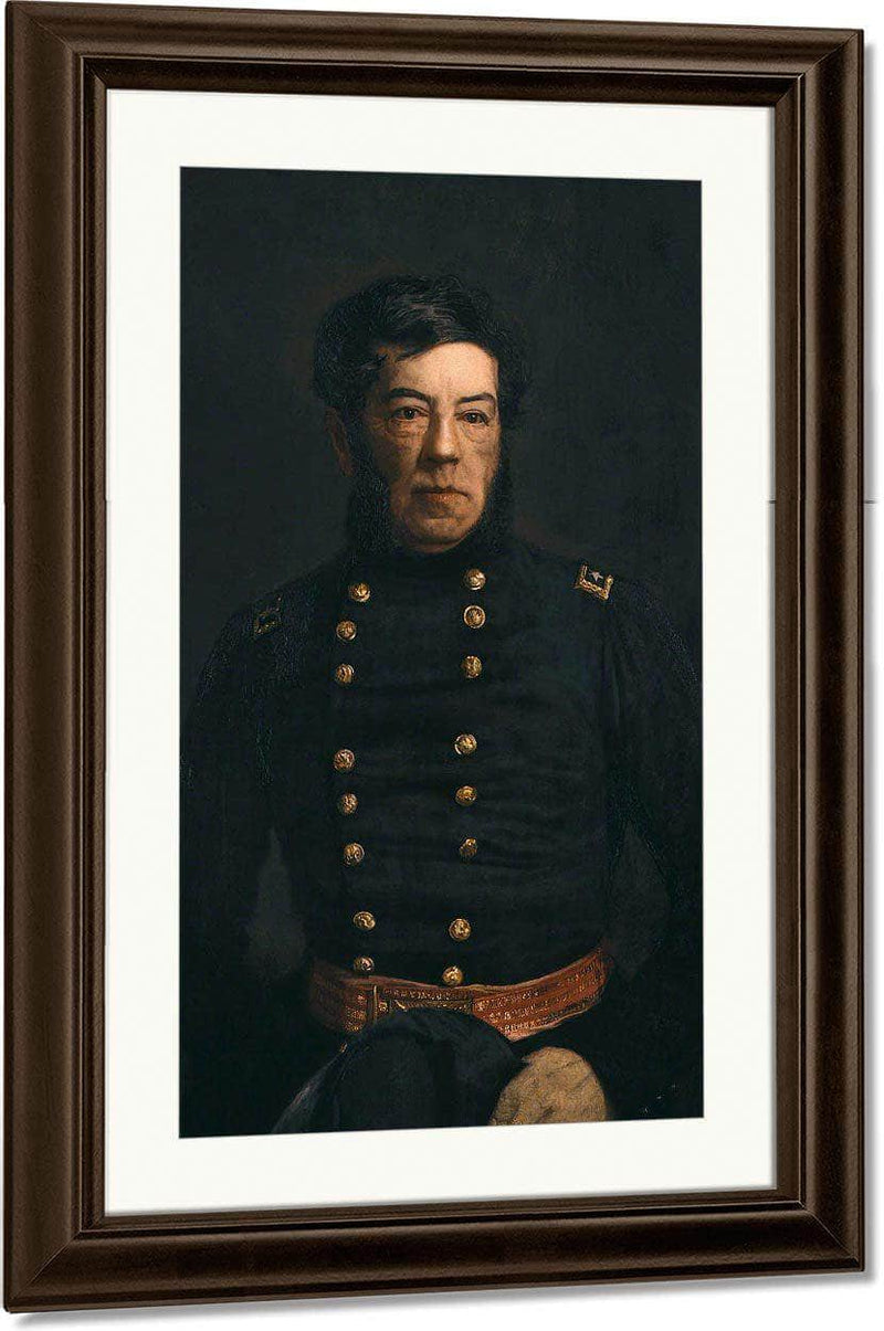 Portrait Of General George Cadwalader By Thomas Eakins