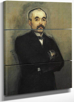Portrait Of George Clemeceau 1880 By Edouard Manet