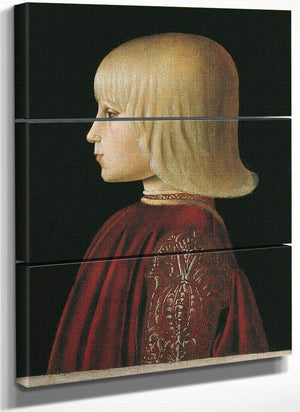 Portrait Of Guidobaldo Da Montefeltro 1483 By Piero Della Francesca