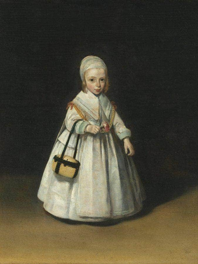Portrait Of Helena Van Der Schalcke (1646 71) By Gerard Ter Borch The Younger