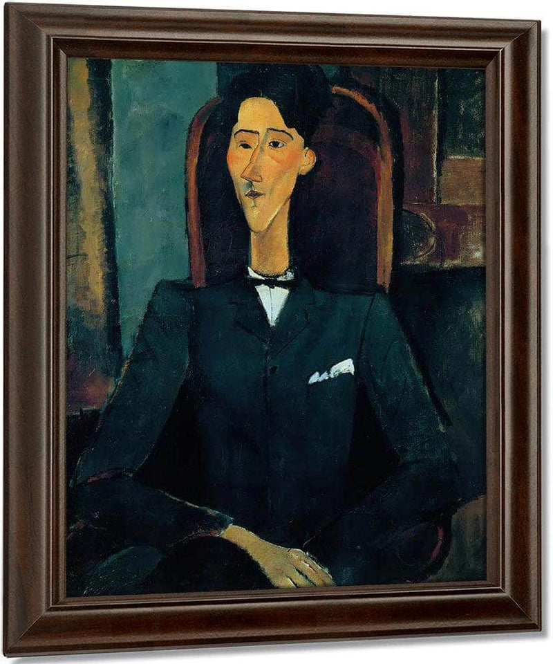 Portrait Of Jean Cocteau 1916 By Amedeo Modigliani