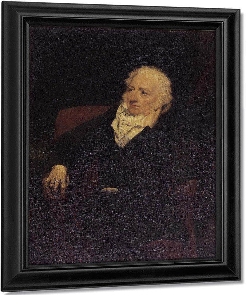 Portrait Of John Henry Fuseli R.A. (1741 1825) By William Henry Walker